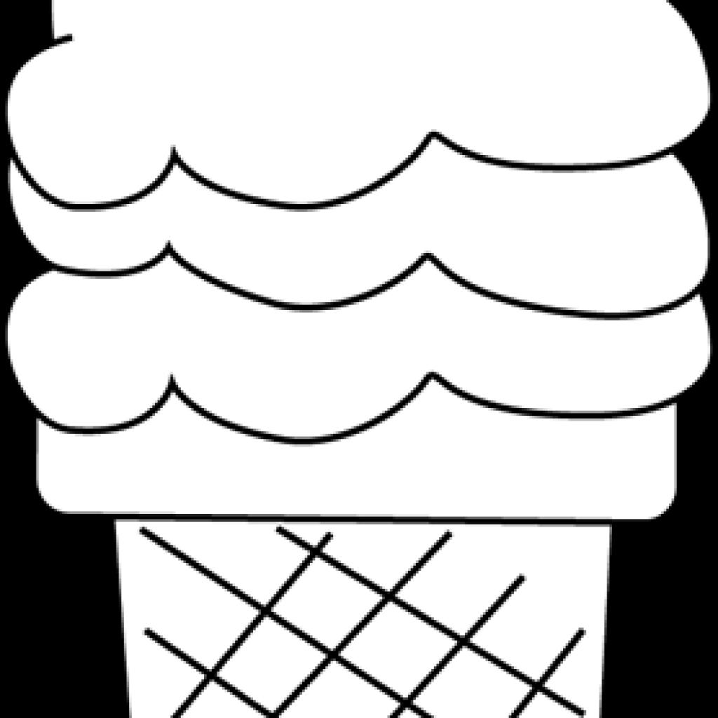 Ice clipart black and white. Cream horse hatenylo com