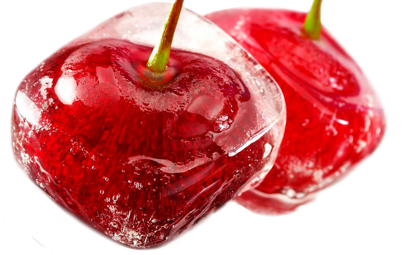 Ice clipart cherry. By lenkinrom on deviantart