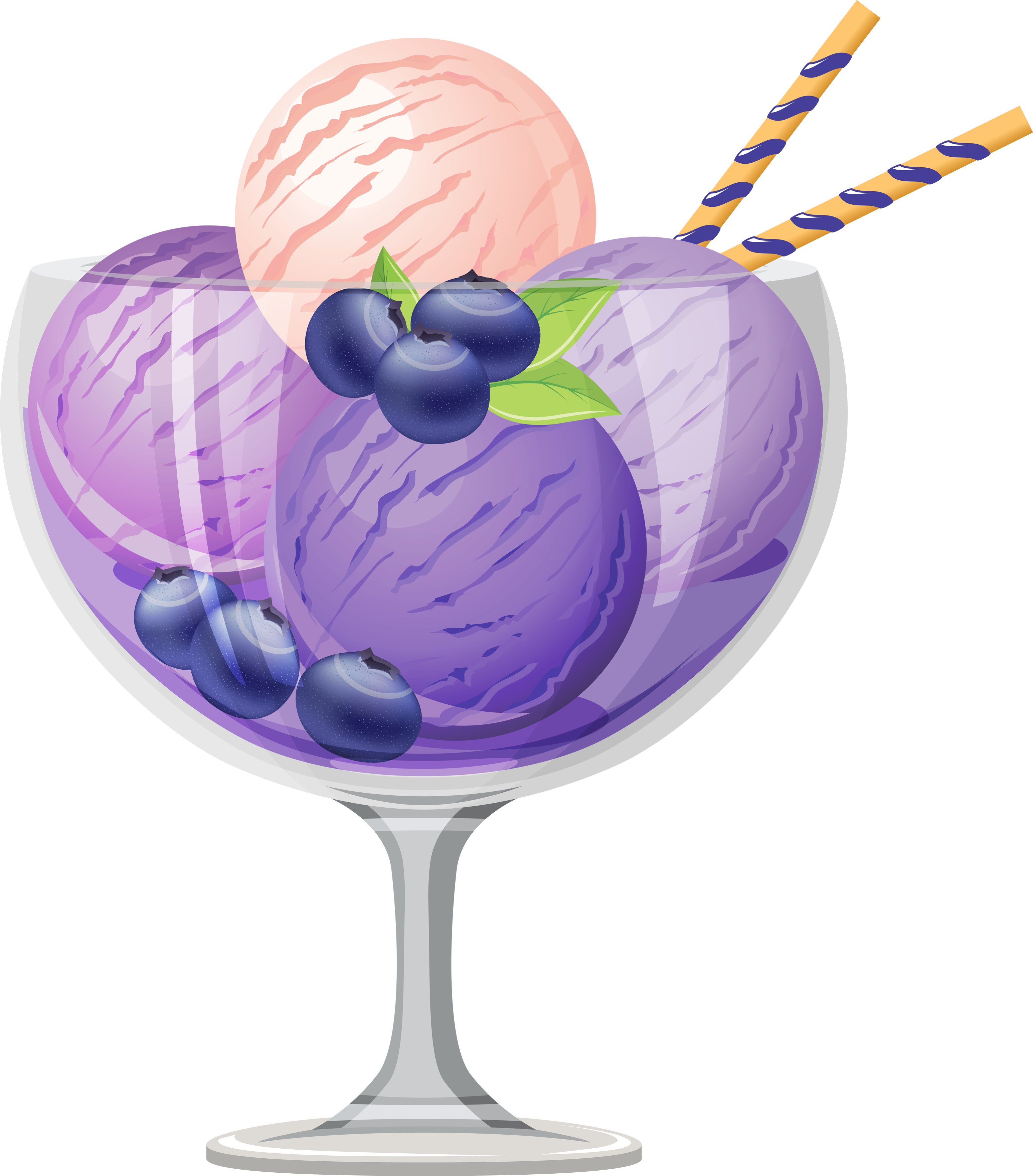 Purple clipart ice cream. Thirteen isolated stock photo