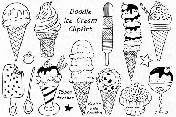 Ice clipart doodle. Pin by etsy on