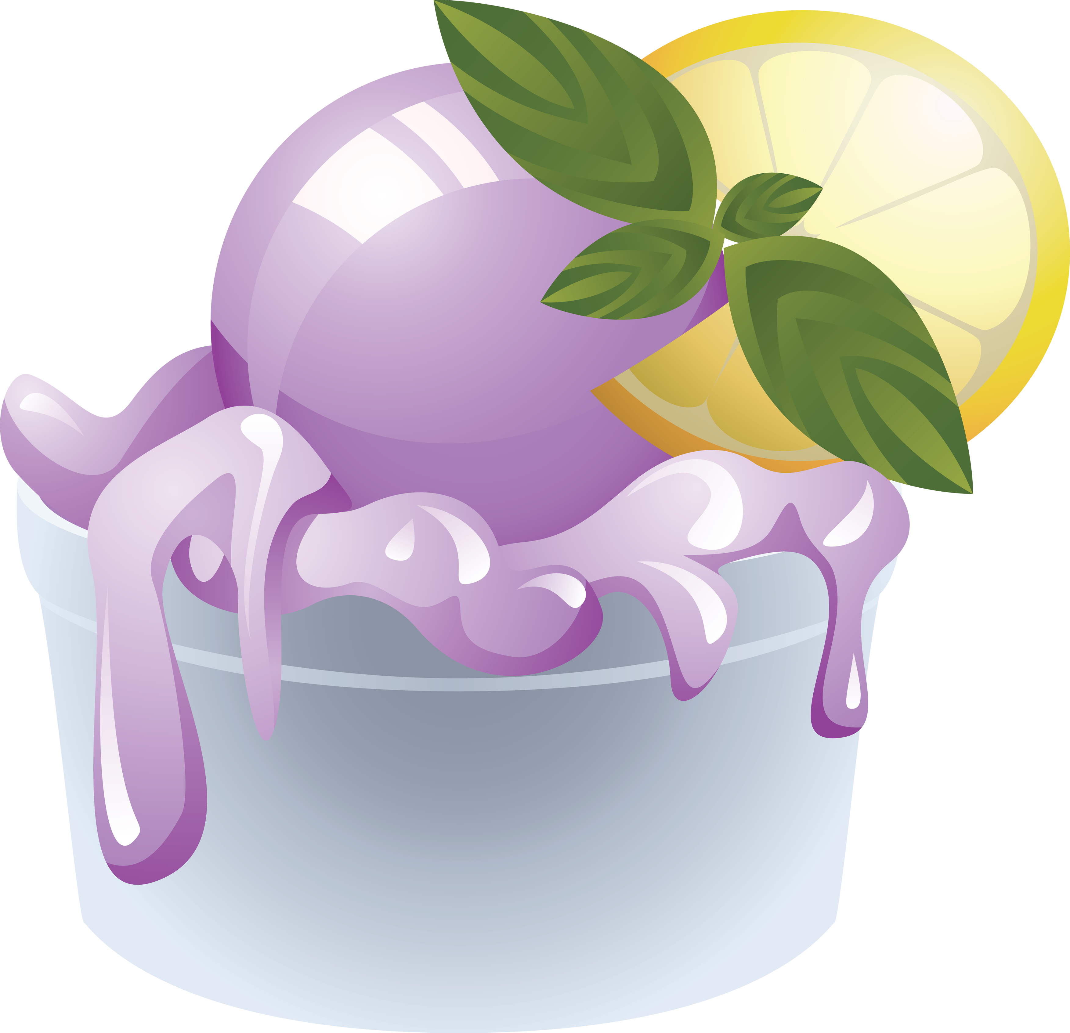 Png in high resolution. Purple clipart ice cream