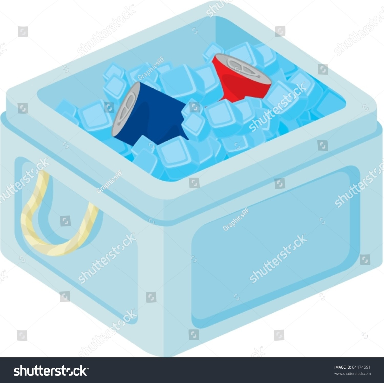 Portal . Ice clipart ice box