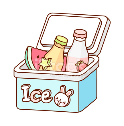The bottles in an. Ice clipart ice box