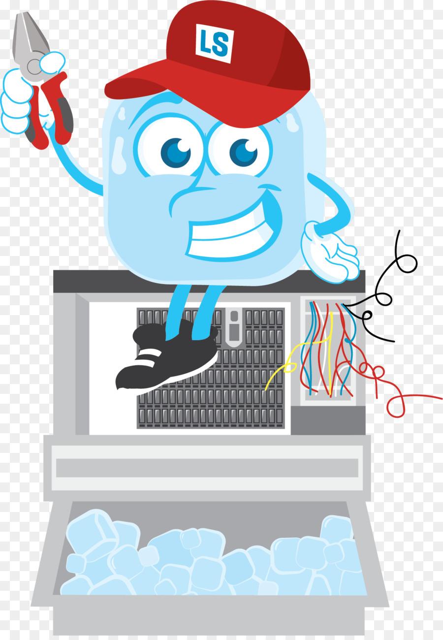 Background illustration product . Ice clipart ice machine