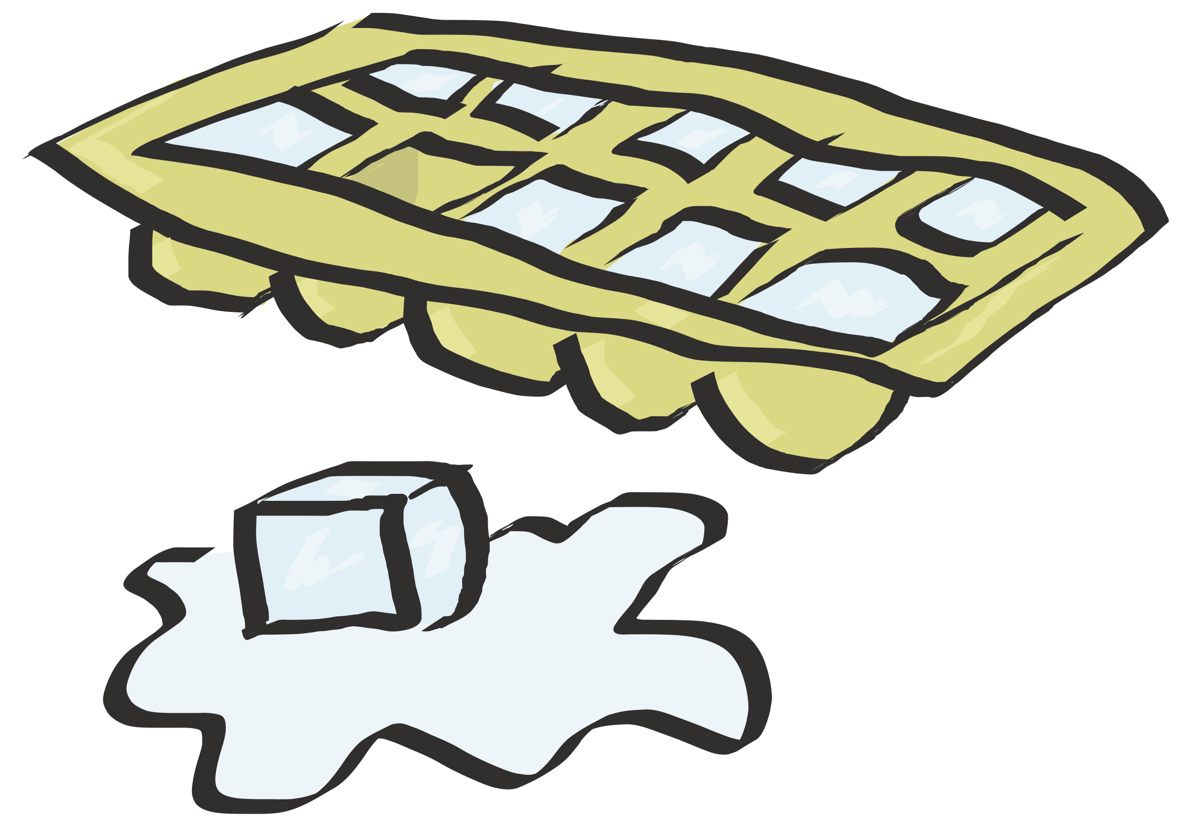 Cube big image png. Ice clipart ice tray