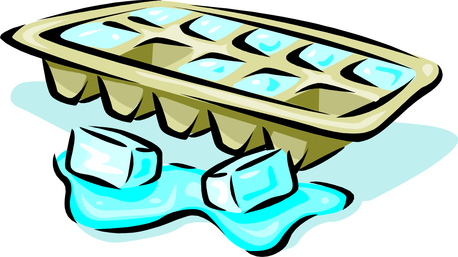 Ice clipart ice tray. Displaying gt images for