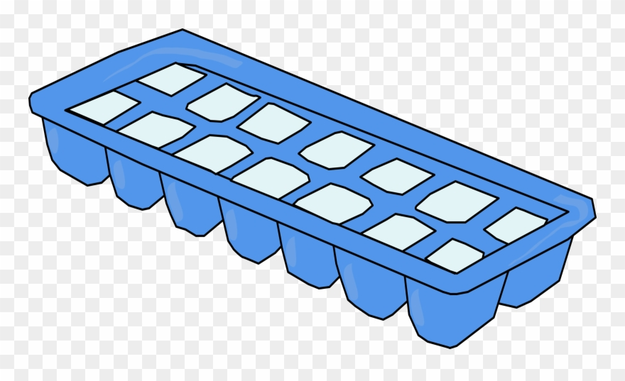 Big image cube png. Ice clipart ice tray