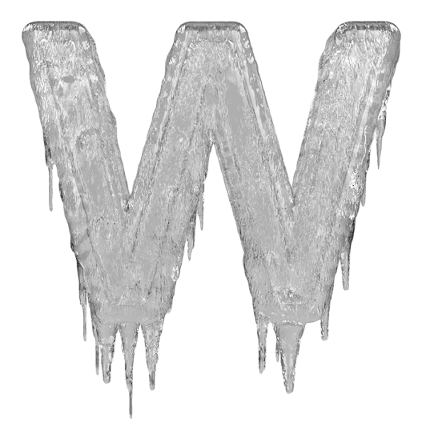 Buy icicle font to. Icicles clipart frost