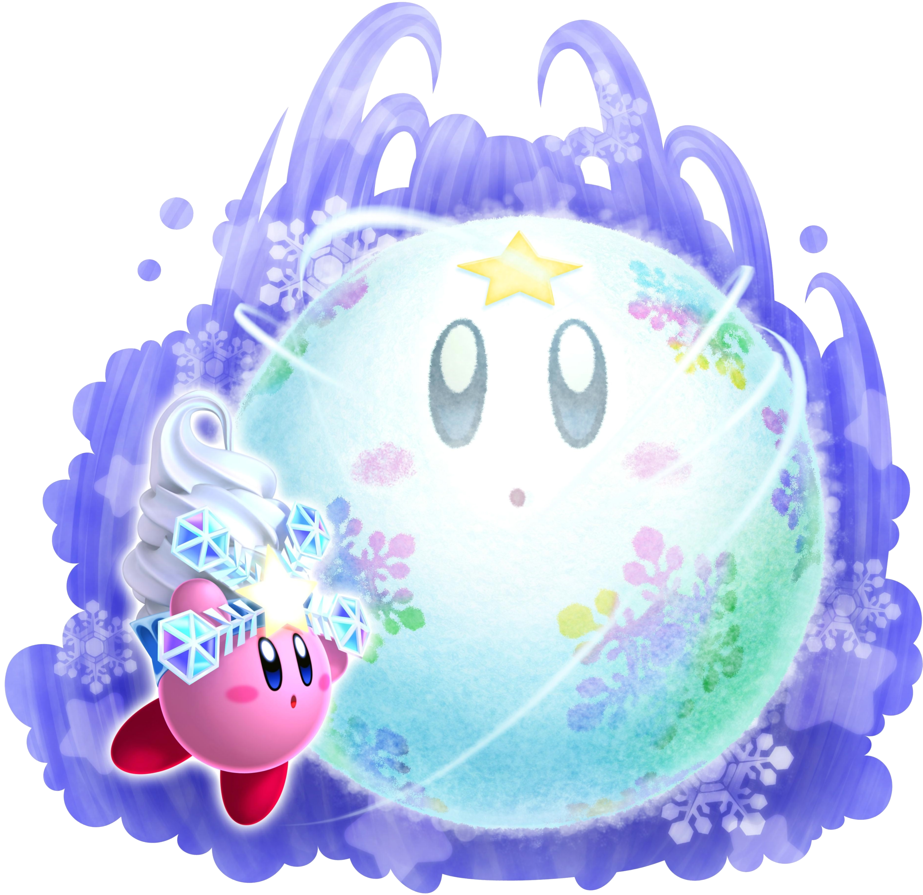 Snowball clipart giant snowball. Snow bowl kirby wiki
