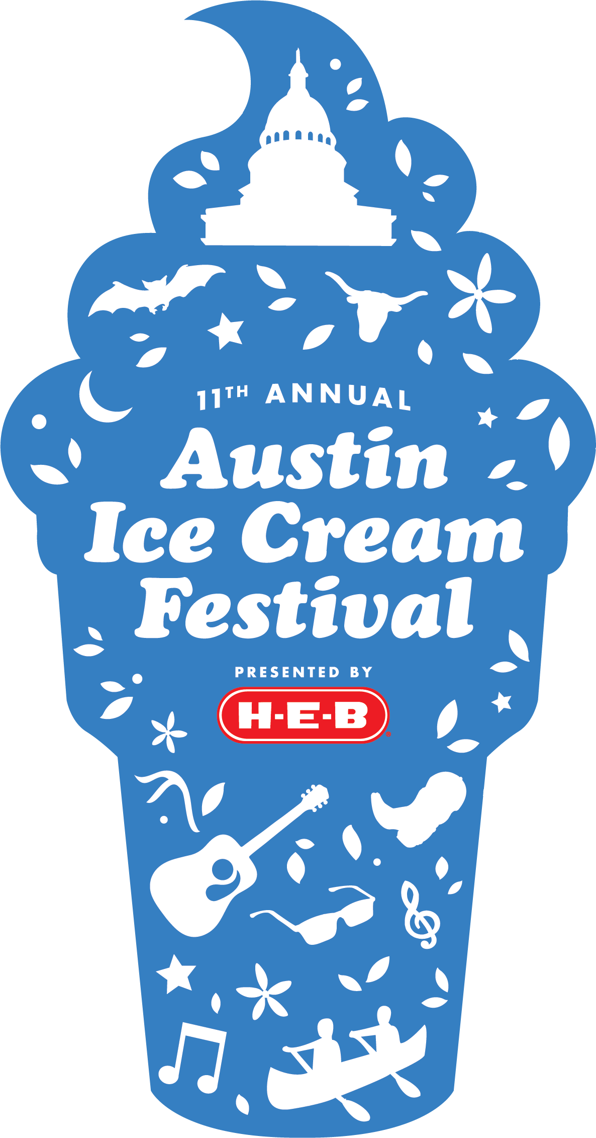 The th annual austin. Ice clipart paddle pop stick