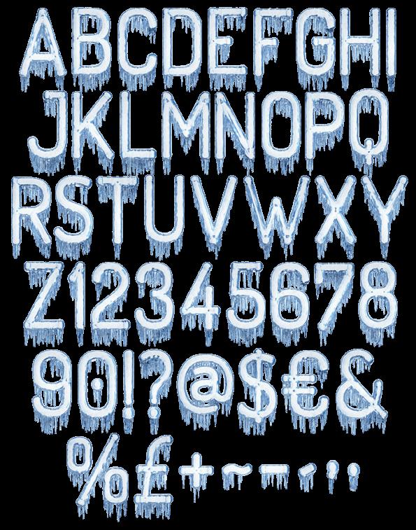 ice clipart pattern design