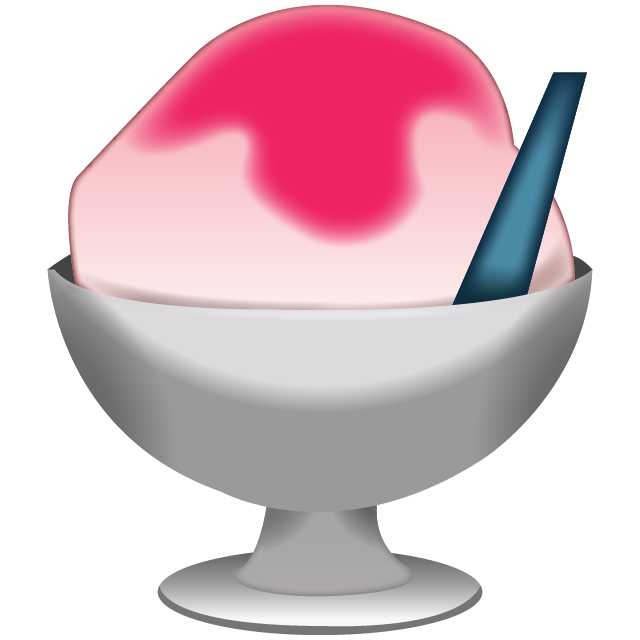 Download shaved emoji icon. Ice clipart shave ice