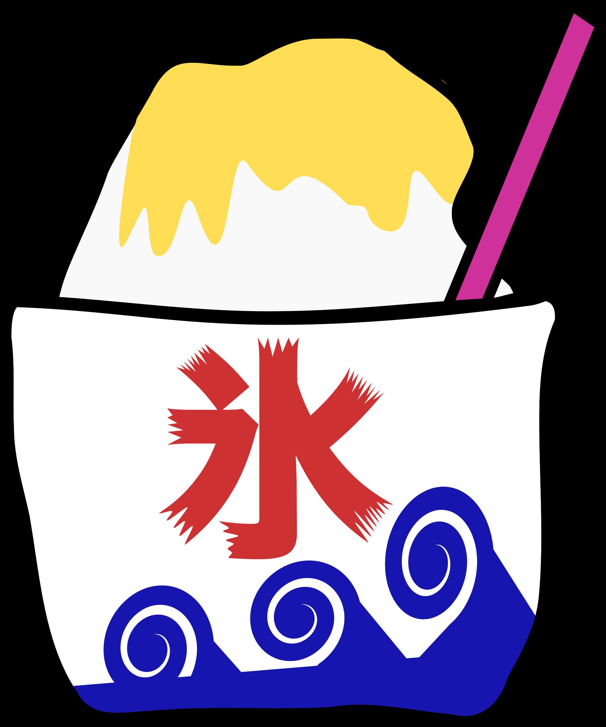 Ice clipart shave ice. Kakigori shaved big image