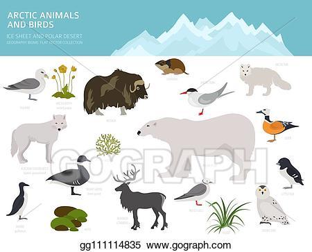 Ice clipart sheet. Eps illustration and polar