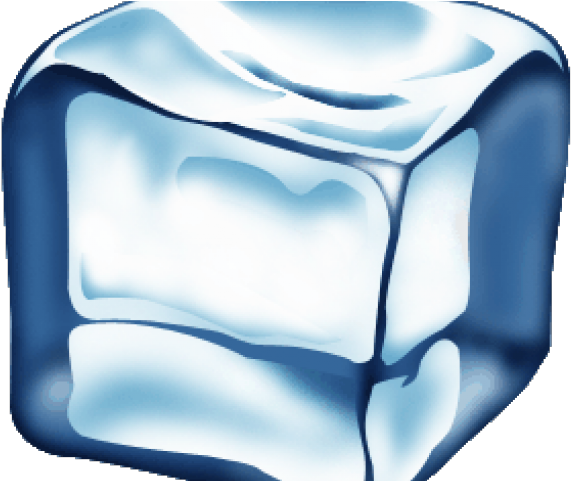 Cube transparent background . Ice clipart single