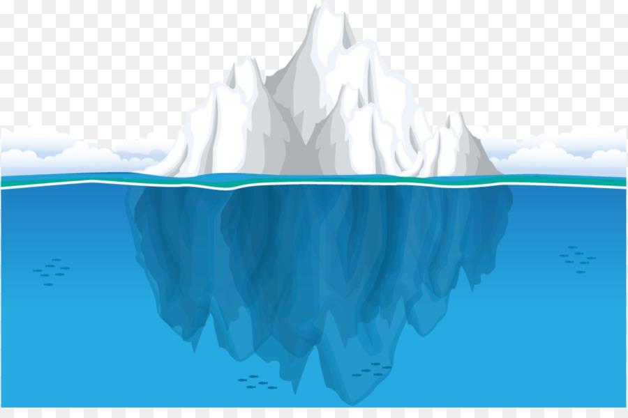 Iceberg ocean seawater clip. Glacier clipart iceburg