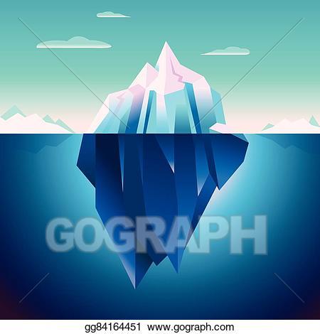 Free clip art royalty. Iceberg clipart