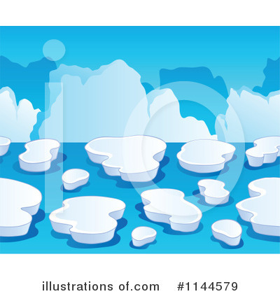 Iceberg clipart. Illustration by visekart royaltyfree