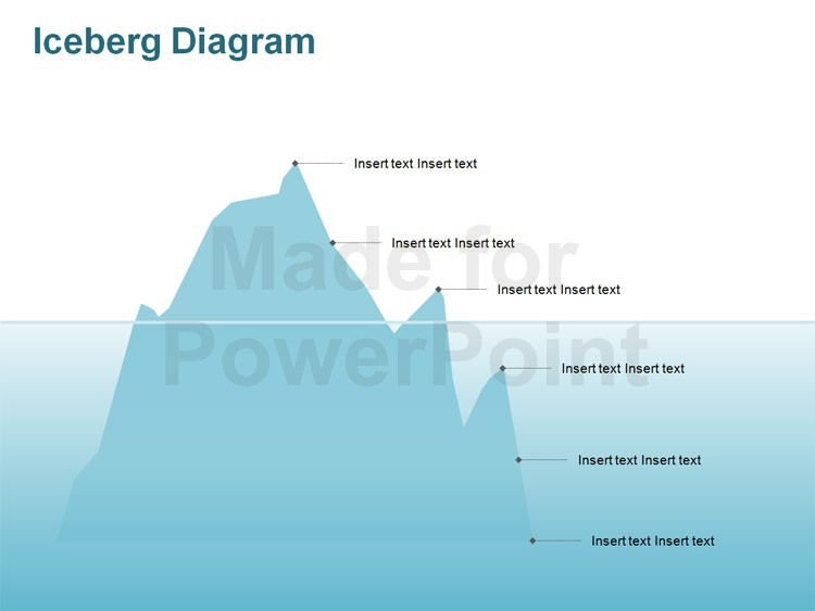 images of template. Iceberg clipart blank