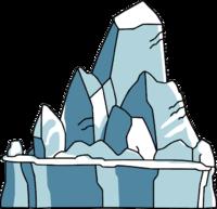 Arktida by krystyna zheliznyak. Iceberg clipart blank