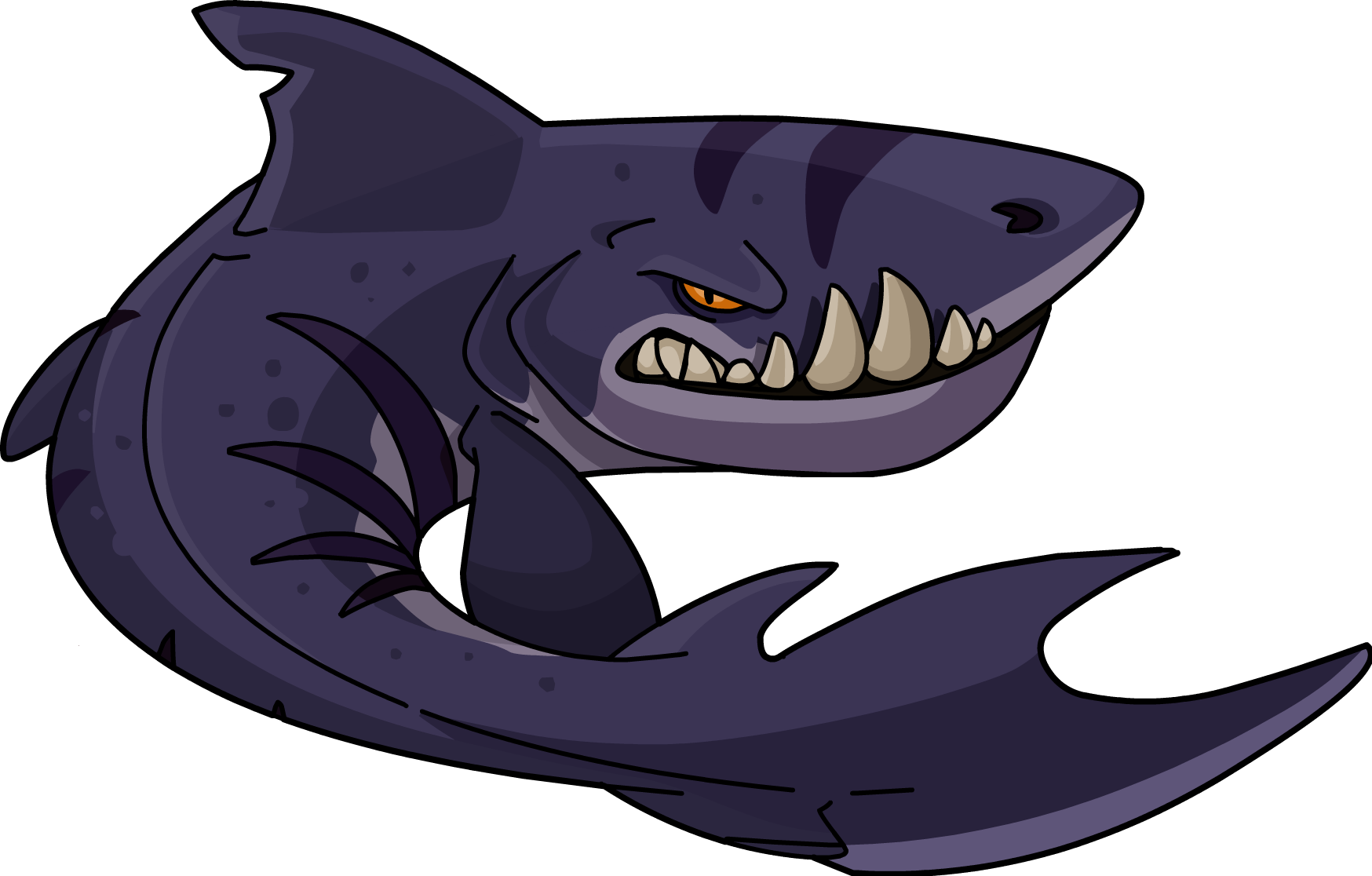 Mouth clipart simple mouth. Megalodon club penguin wiki