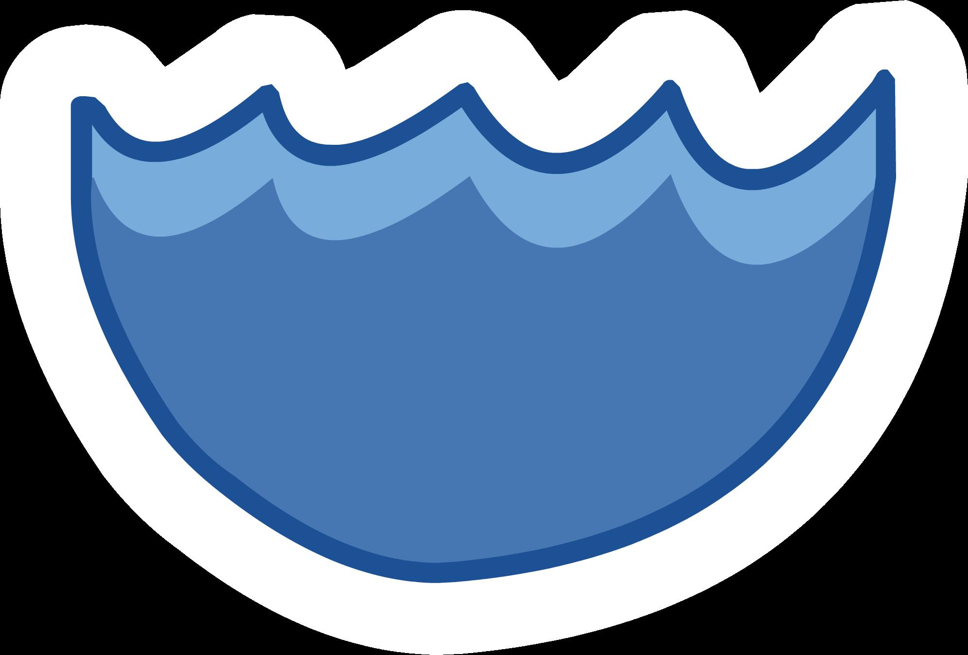 Iceberg clipart ice lake. Club penguin water symbol