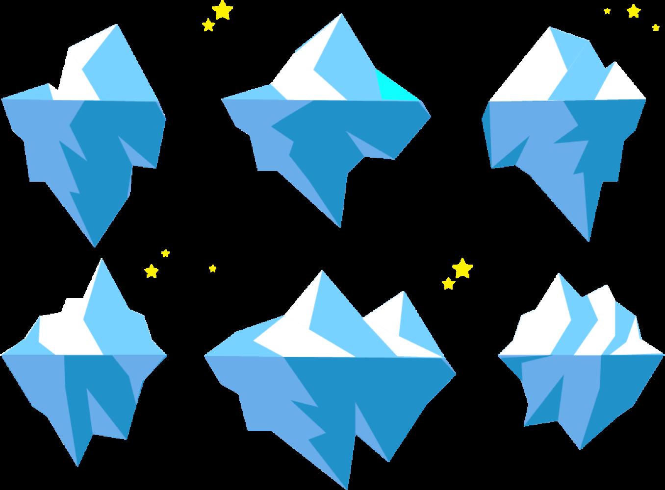 Iceberg clipart iceburg. Google slides clip art