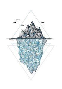 drawing for free. Iceberg clipart iceburg