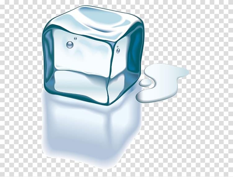 Cube melting transparent background. Iceberg clipart melted ice