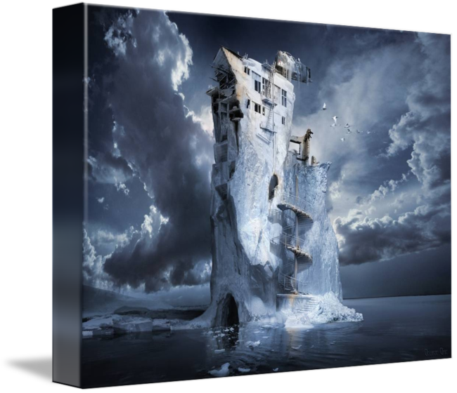 Ice age premonition or. Iceberg clipart visual