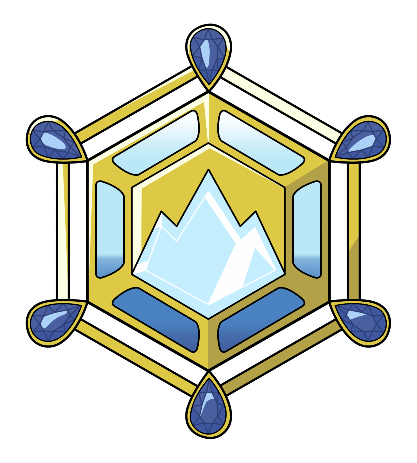 Kalos medalla by adfpf. Iceberg clipart visual
