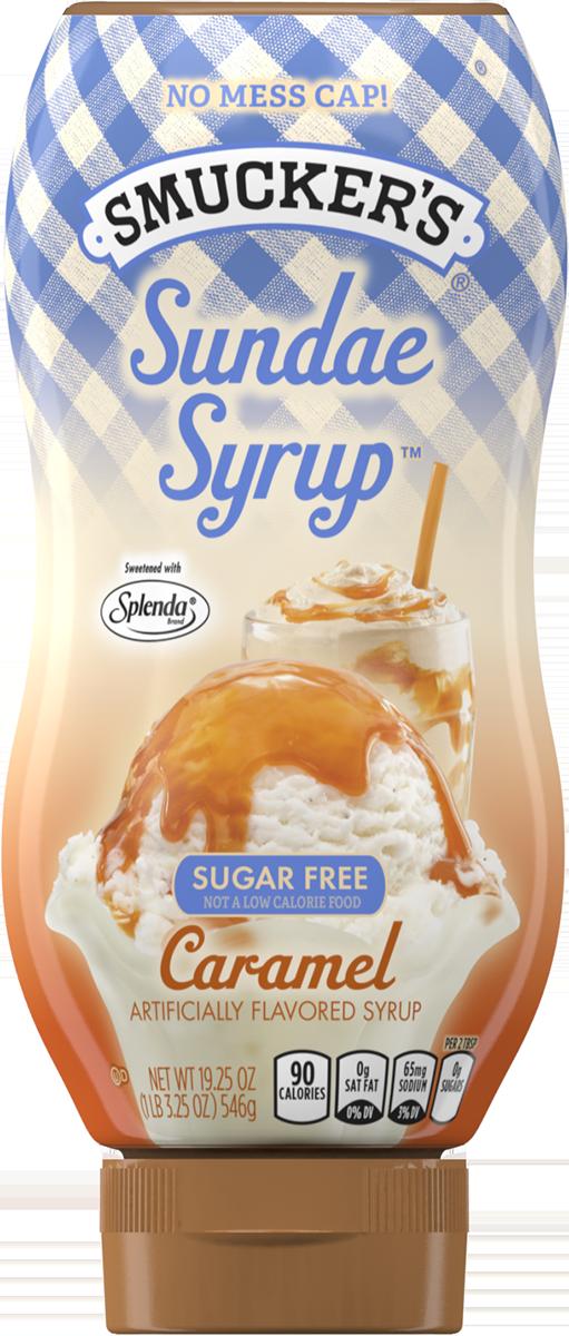 Icecream clipart caramel sundae. Ice cream topping smucker