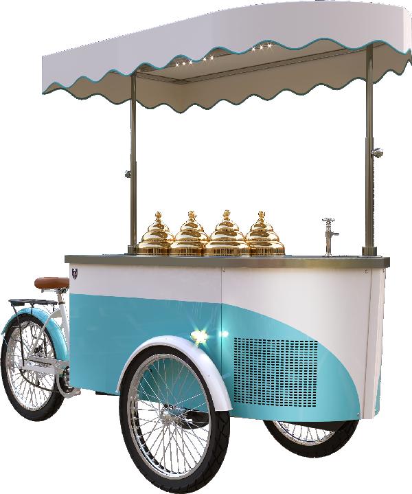 Procopio gelato is the. Icecream clipart cart