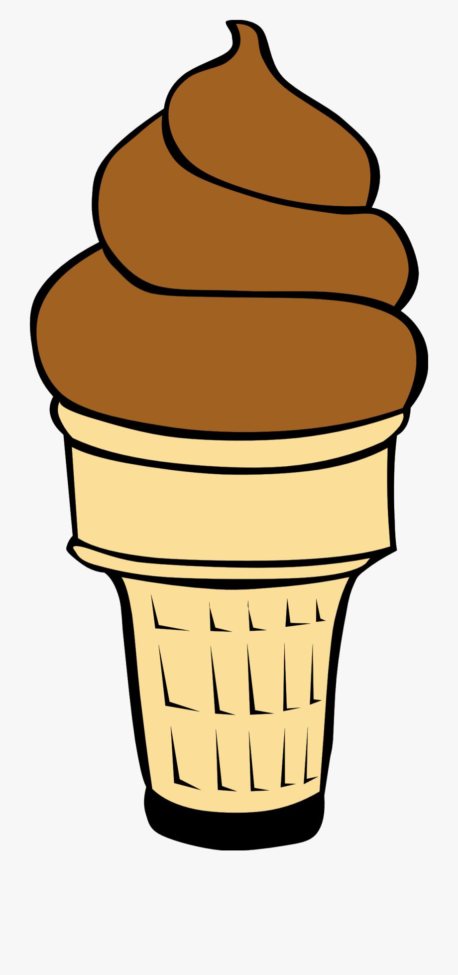 Ice cream cone clip. Icecream clipart chocolate