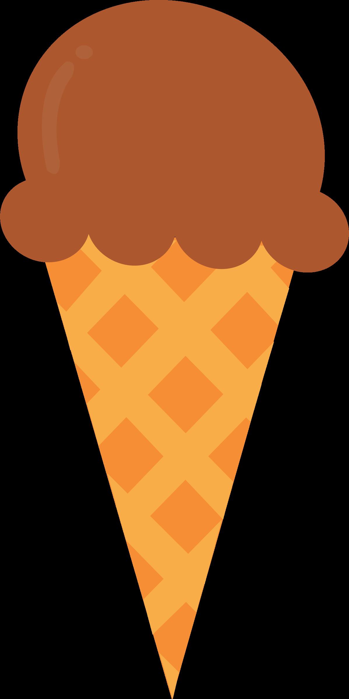 Icecream orange