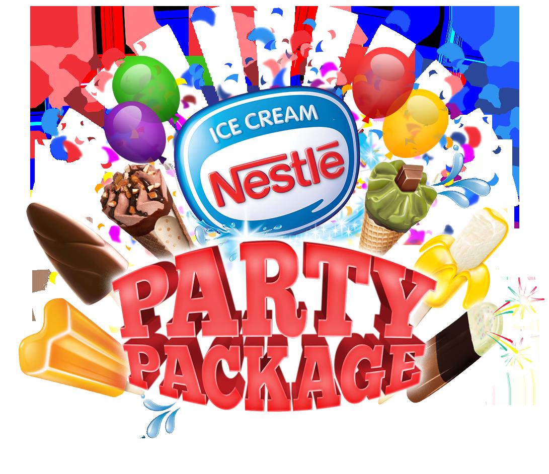 Ice cream party nestl. Magic clipart employee celebration