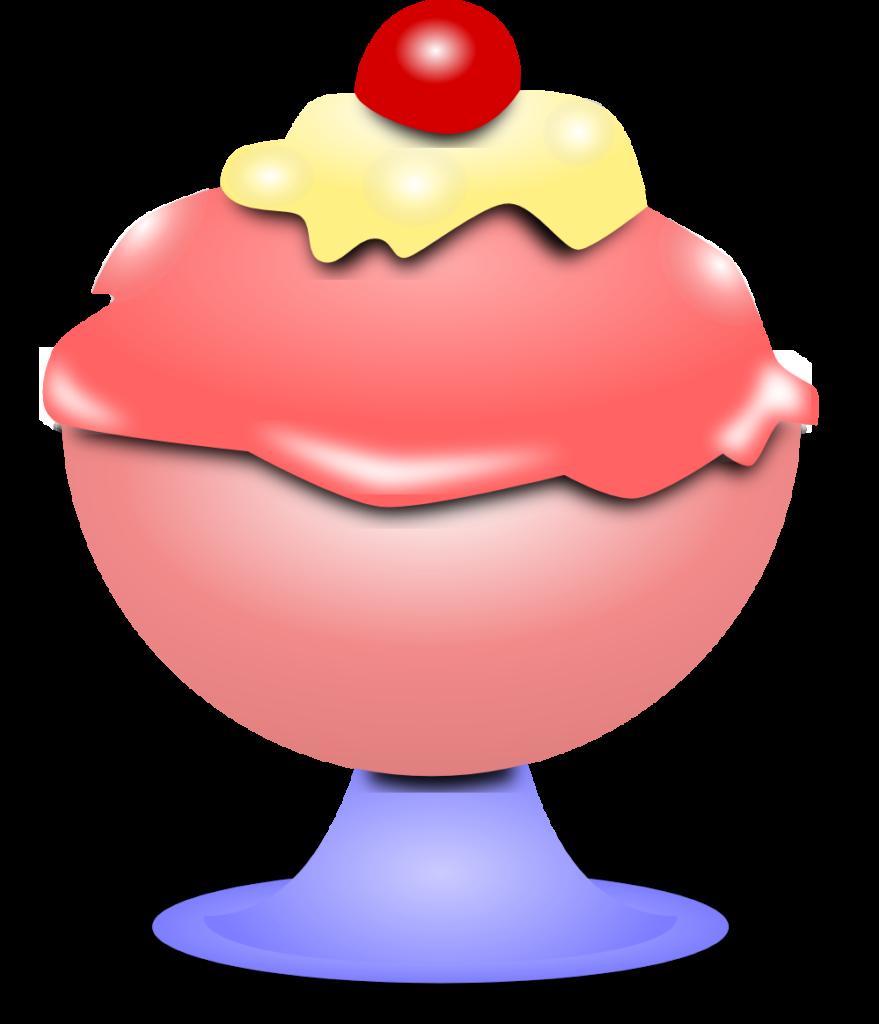 icecream clipart red