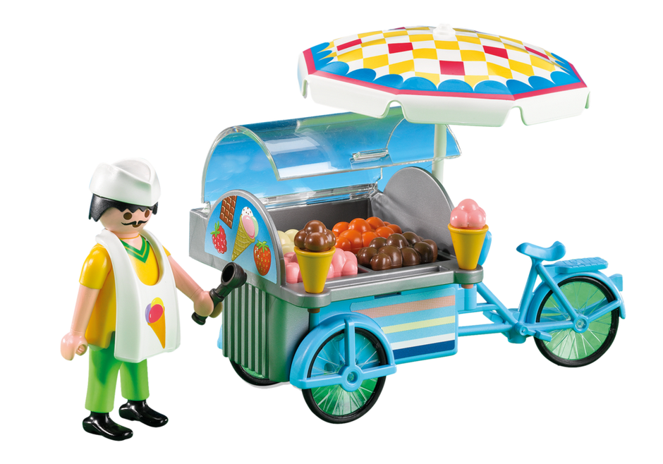 Playmobil . Icecream clipart seller