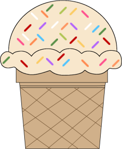 Icecream clipart sprinkle. Pin on food and