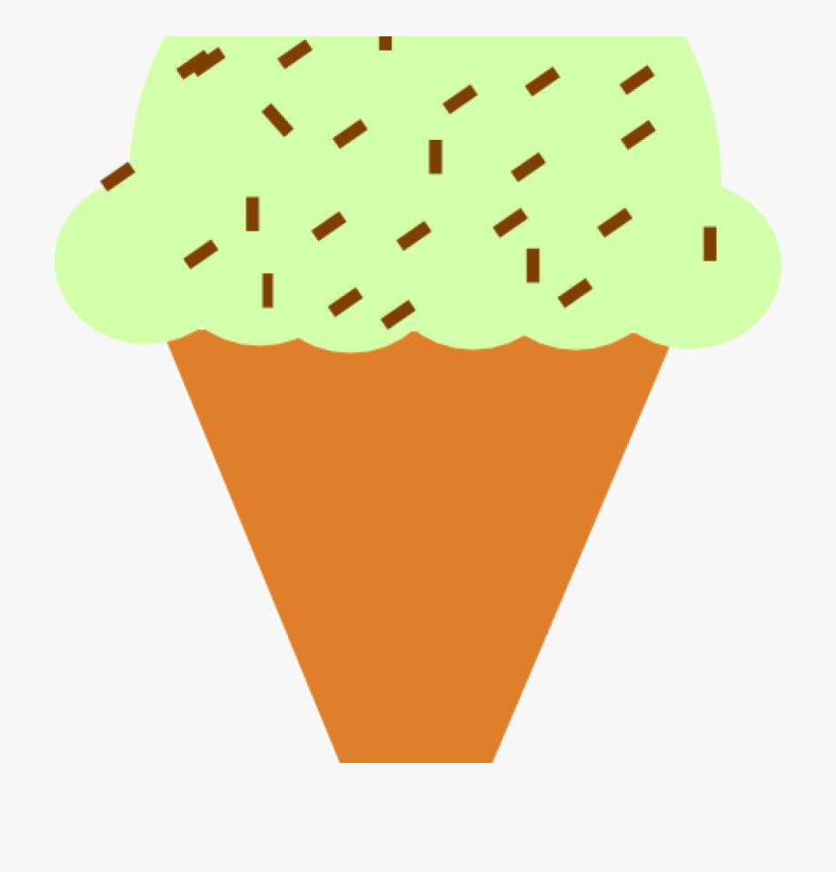 Transparent sprinkles ice cream. Icecream clipart sprinkle