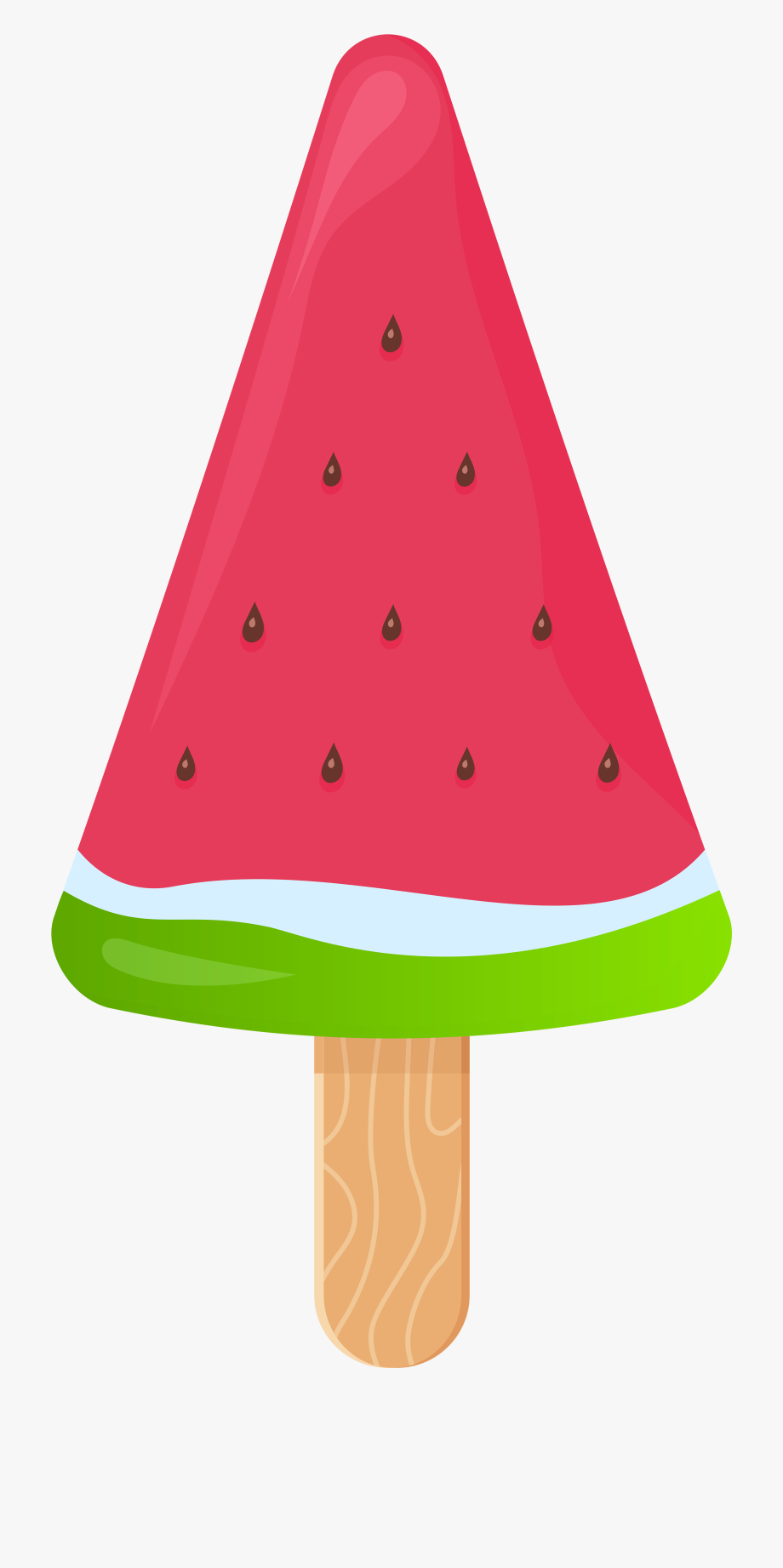 Stick png clip art. Watermelon clipart ice cream