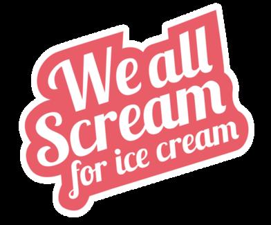 I you ice cream. Icecream clipart we all scream for
