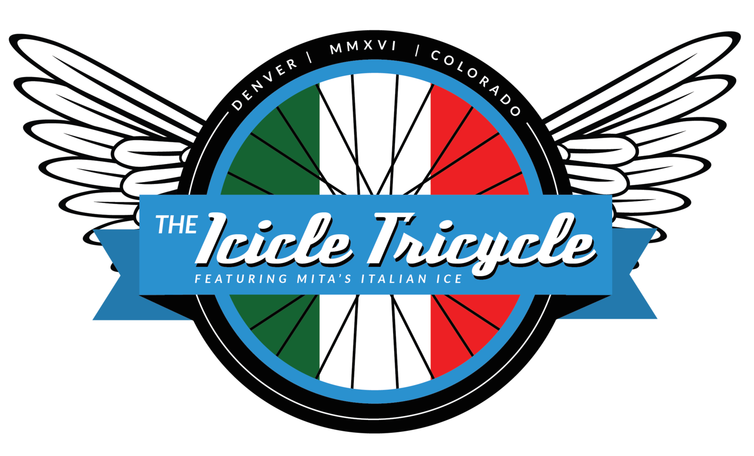Icicle clipart blue. The tricycle