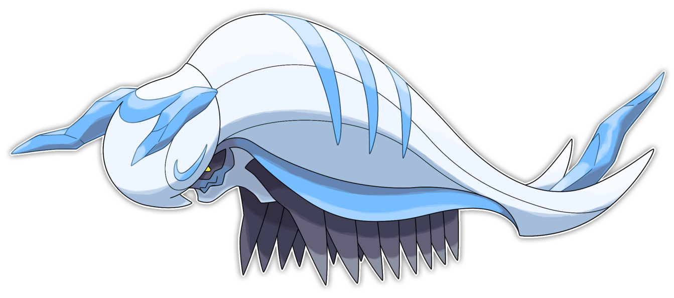 Millacial multileg fakemon by. Icicle clipart fake