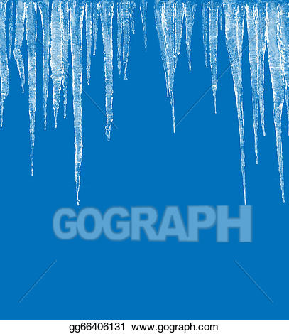 Stock illustration gg gograph. Icicles clipart frosty weather