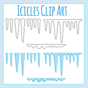 For cold or winter. Icicle clipart frozen