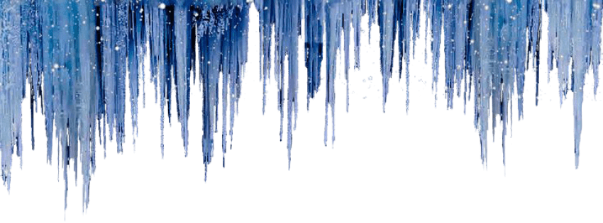 Blue background water . Icicle clipart icicle light