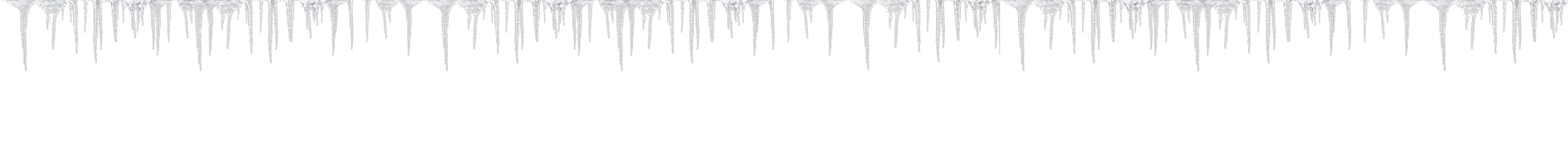 The snow queen theme. Icicles clipart frost