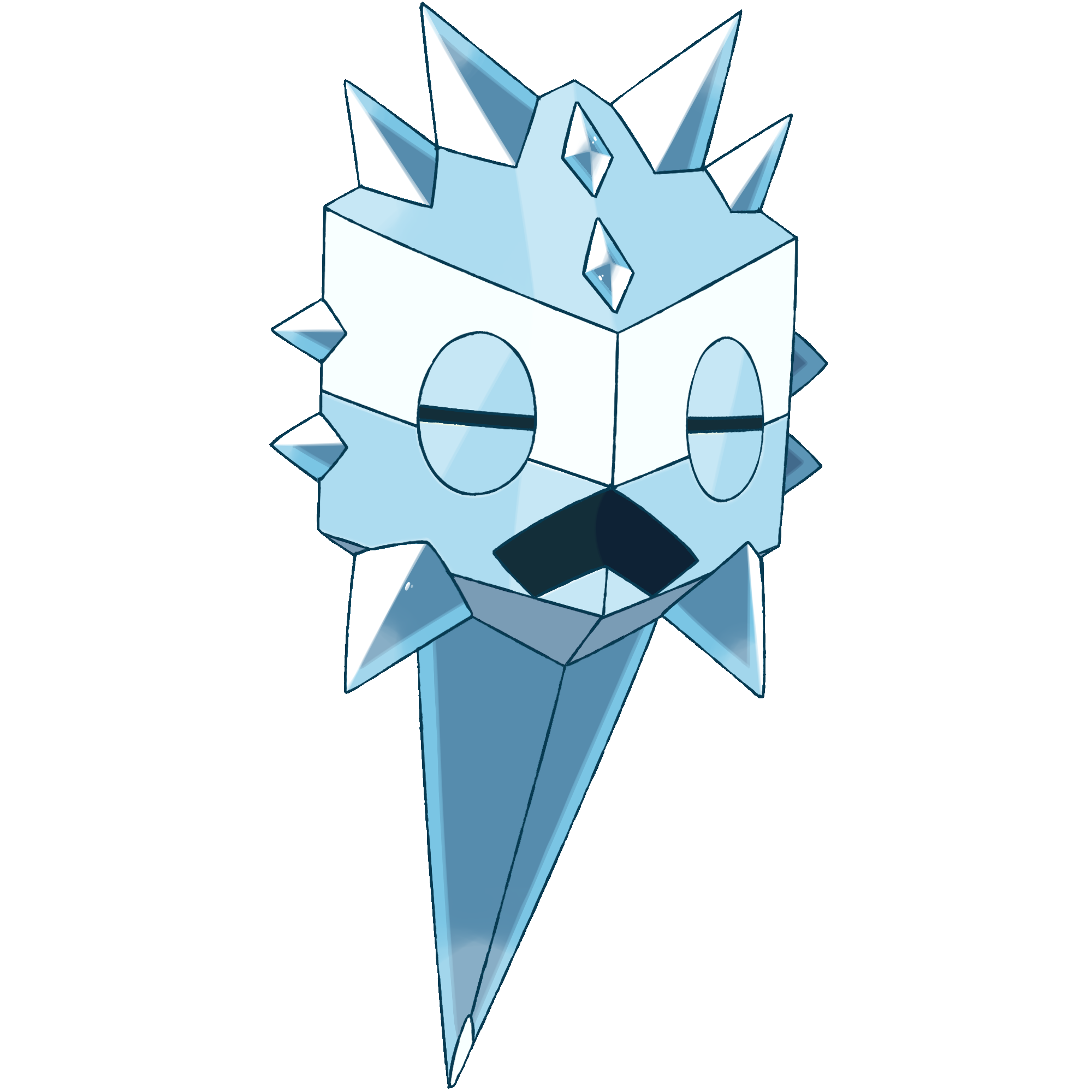 Dimacrisal darkandwindie fakemon wiki. Icicles clipart ice crystal