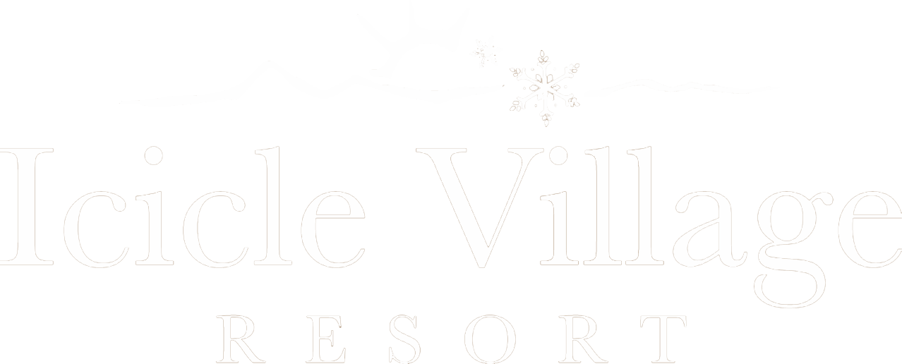 Icicle village resort guest. Icicles clipart single